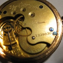 Elgin Pocket Watch #1238630