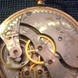 Hampden Grade Gen'l Stark Pocket Watch
