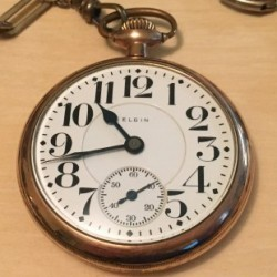 Elgin Grade 455 Pocket Watch