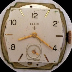 Elgin Grade 554 Pocket Watch