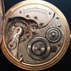 Illinois Grade 605 Pocket Watch