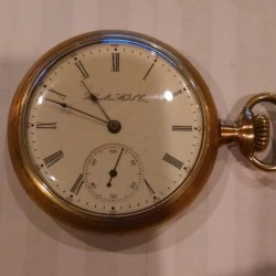 Hamilton Grade 977 Pocket Watch