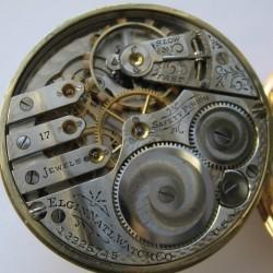 Elgin Grade 340 Pocket Watch