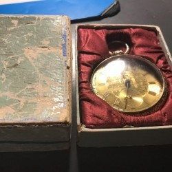 Waterbury Watch Co. Grade  Pocket Watch