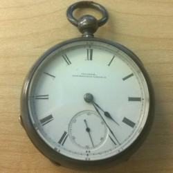 Illinois Grade Mason Pocket Watch