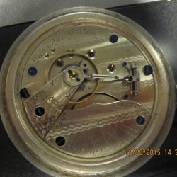 Hampden Grade No. 31 Pocket Watch