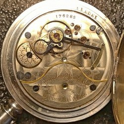 Columbus Watch Co. Pocket Watch Grade Unknown #176285