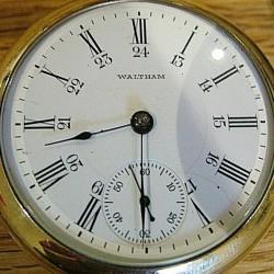 Waltham Grade No. 825 Pocket Watch