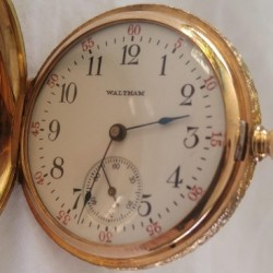Waltham Grade No. 165 Pocket Watch