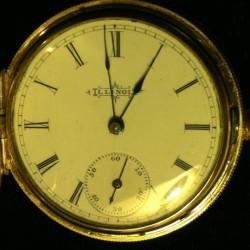 Illinois Grade 130 Pocket Watch