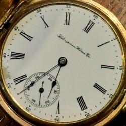 Hampden Grade No. 109 D (in split flag) Pocket Watch