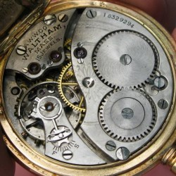 Waltham Grade No. 115 Pocket Watch