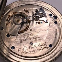 Rockford Grade 83 Pocket Watch
