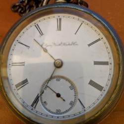 Elgin Grade 43 Pocket Watch