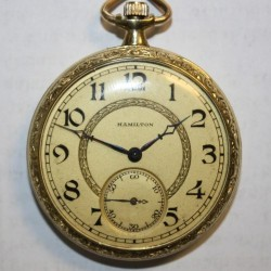 Hamilton Grade 900 Pocket Watch