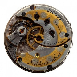 Columbus Watch Co. Pocket Watch Grade  #366090
