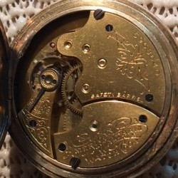 Waltham Grade J Pocket Watch