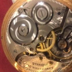 Hamilton Grade 974 Pocket Watch