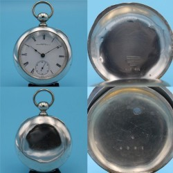 Illinois Grade Miller Pocket Watch