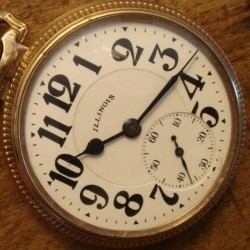 Illinois Grade Bunn Special Pocket Watch