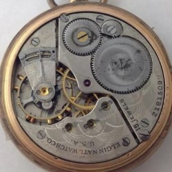 Elgin Pocket Watch #21815090