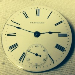 Numbers Hamilton Case Serial Watch Pocket