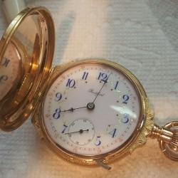 Rockford Grade 825 Pocket Watch