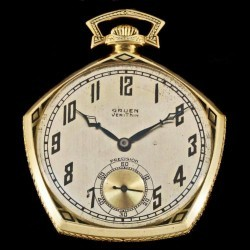 Gruen Watch Co. Grade V4 - precision Pocket Watch