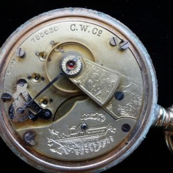 Columbus Watch Co. Pocket Watch #785630