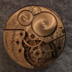 Elgin Grade 153 Pocket Watch