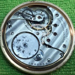 Illinois Grade 173 Pocket Watch