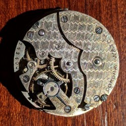 Corona Watch Co. Grade  Pocket Watch