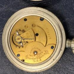 New York Standard Watch Co. Pocket Watch Grade  #379310