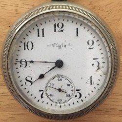 Elgin Grade 74 Pocket Watch