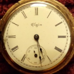 Elgin Grade 109 Pocket Watch