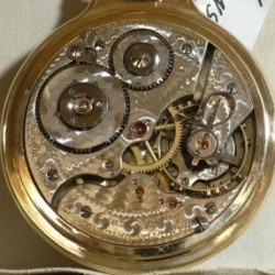 Hamilton Grade 996 Pocket Watch