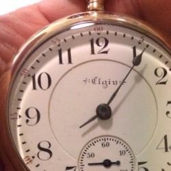 Elgin Grade 180 Pocket Watch