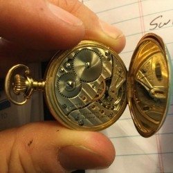 Illinois Grade 33 Pocket Watch