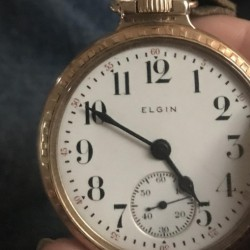 Elgin Grade 372 Pocket Watch