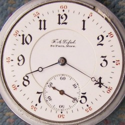 Illinois Grade 176 Pocket Watch
