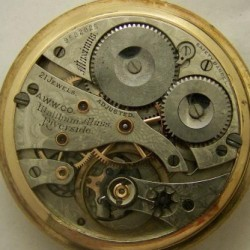 Waltham Grade Maximus Pocket Watch