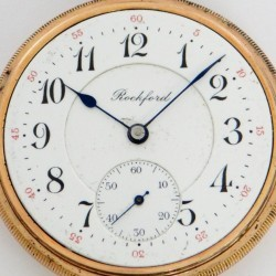 Rockford Grade 645 Pocket Watch