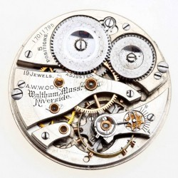 Waltham Grade Riverside Pocket Watch