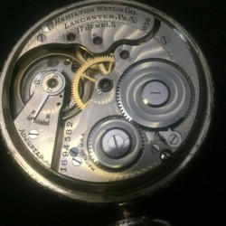Hamilton Grade 956 Pocket Watch