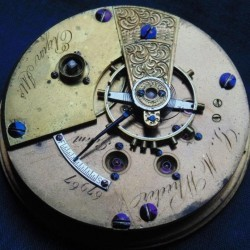 Elgin Grade 57 Pocket Watch