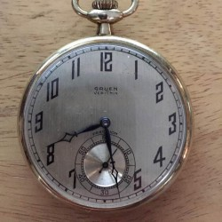Gruen Watch Co. Grade  Pocket Watch