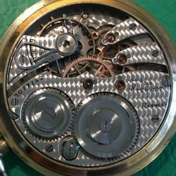 Illinois Grade 255 Pocket Watch