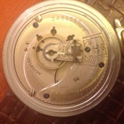 Waltham Grade No. 25 Pocket Watch