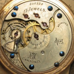 Hampden Pocket Watch #806335