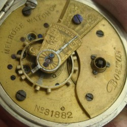 Melrose Watch Co. Grade Unknown Pocket Watch